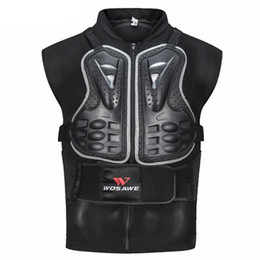 Vestes de tortue en Ligne-Veste moto moto Turtle Armour Vestes Racing Chest Back Coussinets protecteurs équitation ski skating gear guard protection veste