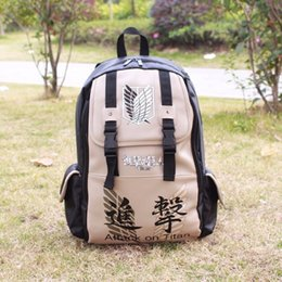 Anime Attack on Titan No Kyojin Scouting Shoulder Bag School Bookbag Backpack 7071558 da