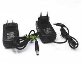 Wholesale 12v Transformer Au - LED Driver Power Supply Adapter Transformer ac 100-240v to DC 12V 2A 24W UK US EU AU Plug for led strip