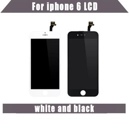 Wholesale oem lcd - Tianma OEM LCD High quality A+++ For iPhone 6 LCD New No Dead Pixels Display with Touch Screen Assembly Digitizer Replacement Parts Brand