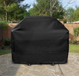 BBQ Gas Grill Cover Black 39