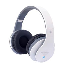 Wholesale head set bluetooth - Headset Bluetooth set music running head retractable Computer Gaming Headset wholesale