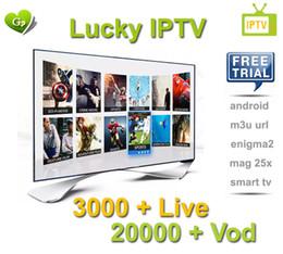 satelliten-tv kostenlos Rabatt Abonnement für 1 Jahr Arabisch Iptv IT UK DE Portugal 3000+ Europa Iptv-Kanäle Streaming IPTV-Konto Apk Support Android Enigma2 Mag25X