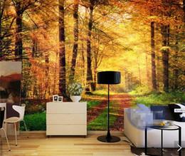 Wholesale Natural Style Landscaping - Modern 3D Natural Landscape Photo Wall Mural Wallpaper HD Wall Paper Rolls Home Wall Art Decorative Sticker Murals Custom Size
