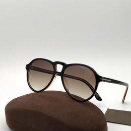 34a5701f0df New Fashion Designer Sunglasses 0645 plate pilot frame uv400 popular  eyewear avant-garde style top quality with original box