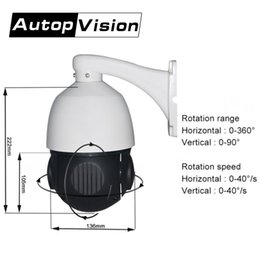 Wholesale indoor ptz dome ip camera - 960P P2P speed dome camera 4 inch outdoor indoor CCTV camera 360 degree 4X Optical zoom lens wireless wifi ptz ip