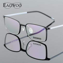 738099a650 EAGWOO EMS Pure Titanium Eyeglasses Girl Men Full Rim Optical Frame  Prescription Spectacle Designed Myopia Eye Glasses 890012 spectacle frames  designs on ...
