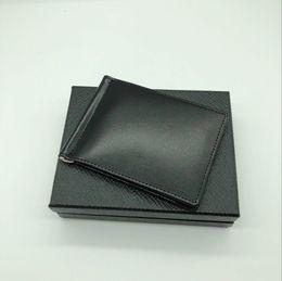 Bestseller Herren Leder Luxus M B Kartenetui Brieftasche Clip Schwarz Kurze Kreditkartenetui MT Pocket Hohe Qualität Brieftasche von Fabrikanten