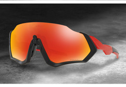 Wholesale running sunglasses women - Polarized Cycling sunglasses flight jacket glasses 2018NEW Style Bicycle Running Fishing sport Sunglasses bicicleta Gafas ciclismo 4pcs Lens