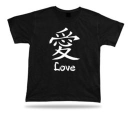 Китайские календари онлайн-Футболка китайский иероглиф любовь гороскоп зодиака календарь languageMens 2018 модный бренд футболка