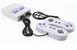 10 ШТ. Новая Супер Мини Игровая Консоль Может Хранить 660 Классических Игр SNES NES PAL NTSC И С Розничными Коробками от