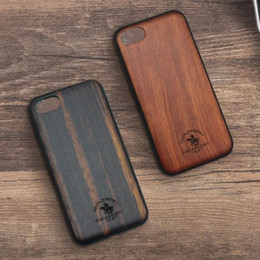 Wholesale fine apple - New models polo case Solid wood business phone boss case Real wood with fine workmanship free shipping