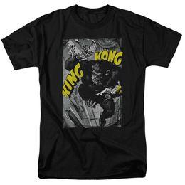 Vestiti di uomini di grandezza re online-King Kong Classic Movie PIANTINE DA PIOGGIA POSTER Poster T-Shirt per adulti Tutte le misure Streetwear Funny Print Abbigliamento Hip-Tope Mans T-Shirt Top Tees