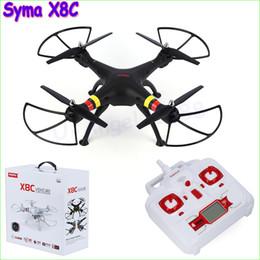 2019 câmera remota quadcopter SYMA X8C X8 2.4G 4CH 6 Eixo Quadcopter RC Zangão Profissional Com 2MP Wide Angle HD Camera Helicóptero de Controle Remoto desconto câmera remota quadcopter