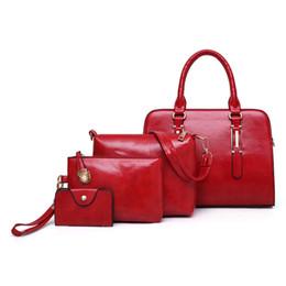 EAYIN Brand 4pcs Women Composite Bags Set Bolsas Feminina Women s Fashion Handbag  Women Shoulder Bag PU Leather Femme Sac A Main 2b073515fb