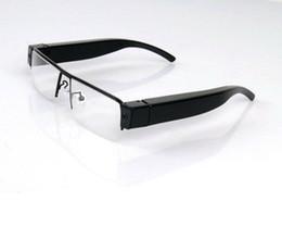 Canada Full HD mini caméra lunettes 1080p lunettes DVR V13 portable lunettes enregistreur vidéo lunettes support de caméra jusqu'à 32 Go noir dans la boîte supplier v13 eyewear Offre