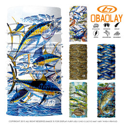 Wholesale fishing scarves - Wholesale- 800 Styles Select 3D Fish Design Magic Headband Outdoor Sport Cycling Bike Bicycle Riding Face Mask Head Scarf Scarves Bandana
