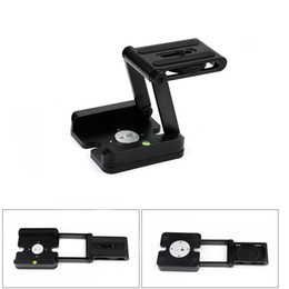 Tripé inclinável on-line-Câmera profissional Flex Tripé Z Pan Tilt Alumínio Dobrável Z Tripé BRACKET Head Solution Fotografia Estúdio