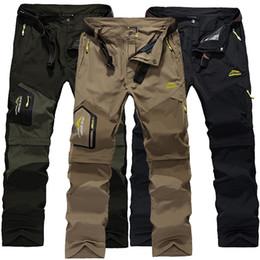 Wholesale Chiffon Trousers - Wholesale- Men's Casual Pants Windstopper Softshell Sportswear Windbreaker Mountain Pants Breathable Waterproof Trousers Men Pockets Pan010