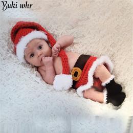 Линии фотографии онлайн-2018 boy girl suit 3 piece suits fleece lining outfits newborn babies christmas new year kids clothes photography props