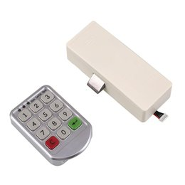Wholesale Number Electronics - Wholesale- Digital Drawer Electronic Intelligent Password Keypad Number Door Code Locks