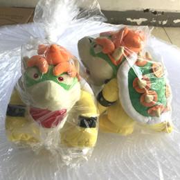 Wholesale Dragon Children - 25cm Bowser Koopa Plush Toy Super Mario Bone Kubah Dragon Children Cartoon Soft Plush Stuffed Dolls Koopa