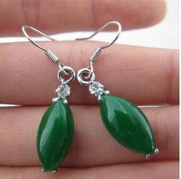 .  бесплатная доставка и горячий продавать ювелирные изделия wholYu jianghu Малайский Jade полный зеленый серьги нефрита серьги нефрита серьги кулон оптом. от