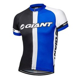 Wholesale Iam Cycling - GIANT IAM team Cycling Short Sleeves jersey man tops 2018 New Bike Outdoor sportswear quick dry c1406
