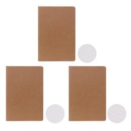 2020 escola dos miúdos papelaria personalizada Kraft Paper NotCreative Sketchbook Para Kid Paint Draw Gift Material Escolar Papelaria escola dos miúdos papelaria personalizada barato