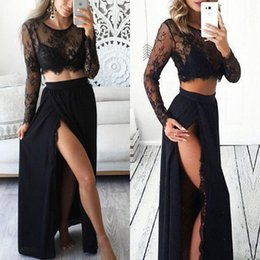 Argentina 2018 New Hot 2pcs Sexy Women Formal Prom Vestido largo Vestido de noche Vestido largo cheap new hot women long evening dresses Suministro