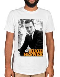 9d4d3d69 Hugh Hefner Portrait Hef T-Shirt Playboy Mansion Pimpin. Supplier: brawtees