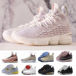 cb2568b73004e 2018 new High Quality Newest Ashes Ghost LEBRON 15 Basketball Shoes shoes  Arrival Sneakers 15s Mens Casual 15 sports shoes size 40-46