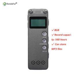 2019 flash player mp3 Ultra-fino 8 GB Mini Flash USB Gravador De Voz De Áudio Digital De Som 560Hr Ditafone Ditafone MP3 Player Inteligente Automático flash player mp3 barato