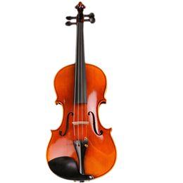 Violon violon en Ligne-Violon Esprit Professionnel Violon Qualité Violon Artisanal 4/4 20 Ans Rayé Naturellement Rayé Maple Viola