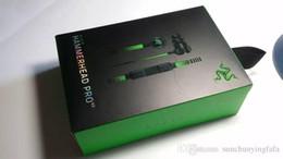 Razer Hammerhead Pro V2 наушники с микрофоном с розничной коробке в ухо игровые гарнитуры DHL Бесплатная доставка. от Поставщики спортивные наушники bluetooth