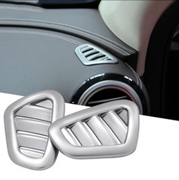 Wholesale Air Vents Covers - Chorme Dashboard Side Air Vent Outlet Cover For Benz 2016 E Class Outlet Vent Cover Trim Interior Accessories OOA4974