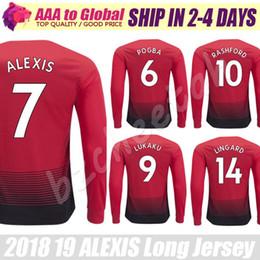 2019 camiseta deportiva completa Camiseta Alexis camiseta 2019 Camiseta de  fútbol de manga larga con tope 7971f2e19475c