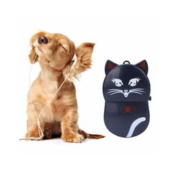 Lector de sd mp3 online-Lovely Cat Design Reproductor de MP3 Mini Reproductor portátil de MP3 con música de clip Utilizado como lector de tarjetas Micro SD / TF Compatible con tarjeta de 32GB SD # ORMK06
