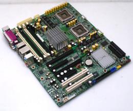 Server cpu della scheda madre online-Spedizione gratuita CHUANGYISU per scheda madre server XW6400 WS, 442029-001 380689-003, dual 771 CPU, lavoro perfetto