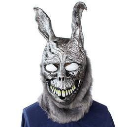 Máscaras zombie completas online-Hot Horror Halloween Biochemical Crisis Cosplay Disfraz de látex Bloody Zombie Mask Melting Full Face Walking Dead Scary Party Máscaras