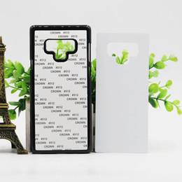 Пустой печатный корпус для ПК с металлическим листом для 2D ПК Сублимационная крышка для передачи тепла для Samsung Note 9 8 5 S9 s8 s7 от