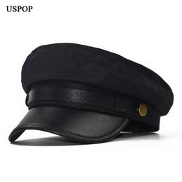 c2b7315d2f2c2 2019 sombreros cortos USPOP 2018 Nueva moda mujer sombrero de invierno  cálido boina de lana sombrero