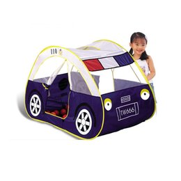Wholesale Playing Car Games - High Quality child kids play tent car toy tent large game house indoor outdoor beach play house Free Shipping Tent+Ocean ball