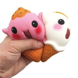 Wholesale fine business - Kawaii Elves Popsicle Squishy Decompression Toys Cute Simulation Ice Cream Squishies Slow Rebound Toy Hot Sale 13 5df C