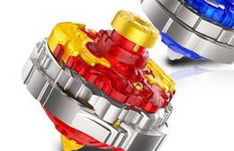 Super - variable battlestar spin - pull - up station de disque de combat gyro flamme rouge dragon combinaison super top jouet enfants ? partir de fabricateur