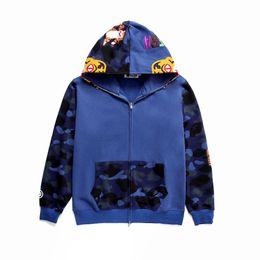Samt besticktes fell online-2018 New Style Ape Sweatershirt mit Logo Box Bestickte Samt Pullover Jugend Casual Kapuzenmantel Angst Gottes Outdoorbekleidung Justin Bieber Sal