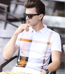 Wholesale Luxury Slim Fit Clothing Men - Brand Designer-Arrival Men Polo Shirt Slim Fit Short Sleeve Men Clothing Luxury Brand Business & Casual Summer Mens Polo Shirts Male Clothe