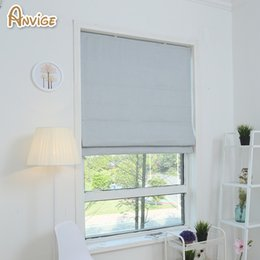 Wholesale Make Installation - Anvige Half Full Blackout Curtains For Kitchen Living Roman Blinds Window Blind Custom Made Curtains Free Shipping