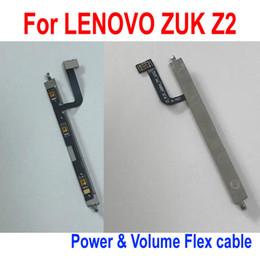 2019 teclado de reemplazo Calidad SUPERIOR Original Power Volume Keypad Button Flex Ribbon Cable Para Lenovo ZUK Z2 Reemplazo de piezas de teléfono teclado de reemplazo baratos