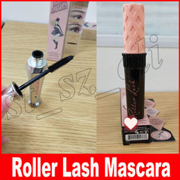 Wholesale Black Highlights - Hot Makeup Slim roller lash Mascara Waterproof 3D Mascara Black Color Subtle Brow-enhancing Highlights waterproof natural eye cosmetic
